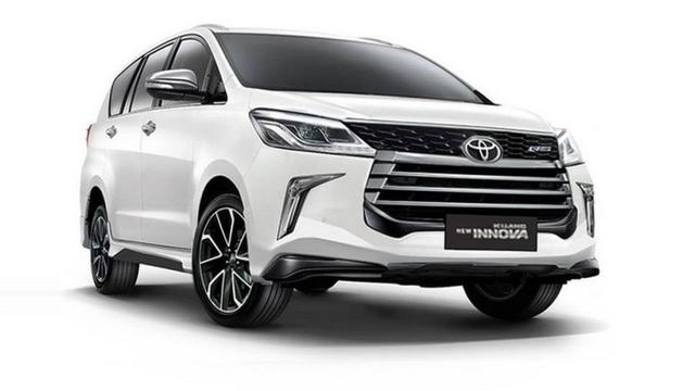 Beginikah Tampang Toyota Kijang Innova Terbaru