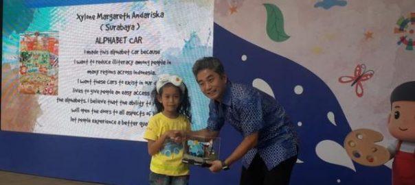 Peringati Hari Anak, Toyota Gelar Kontes Gambar Mobil Impian