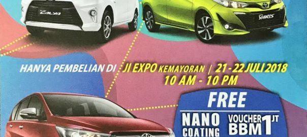 Promo Toyota Sermarak Asian Games Dari Astrido Tangerang
