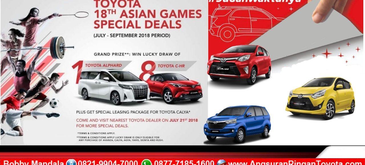Promo Toyota Spesial Asia Games 2018 Dari Dealer Toyota Astrido
