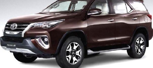 TMMIN Menargetkan Ekspor Toyota Fortuner 10.000 Unit