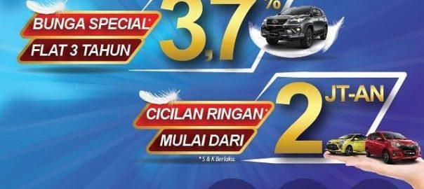Promo Toyota Tangerang, Cicilan Ringan, Mulai Dari 2 Jutaan